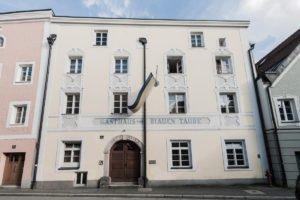 Corpshaus des Corps Budissa in der Schmiedgasse 4 in Passau