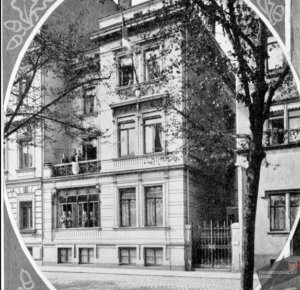Corpshaus in der Marienstraße 31 in Leipzig